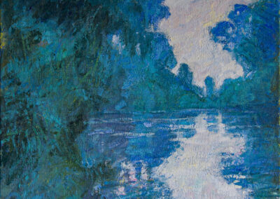 Branch of the Seine Near Giverny—after Claude Monet, 1897