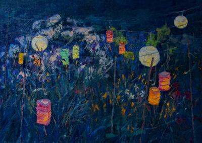 Island Garden—Paper-Lanterns
