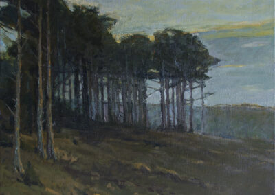 The Pine Grove—Twilight, after Charles Warren Eaton, ca. 1900-10