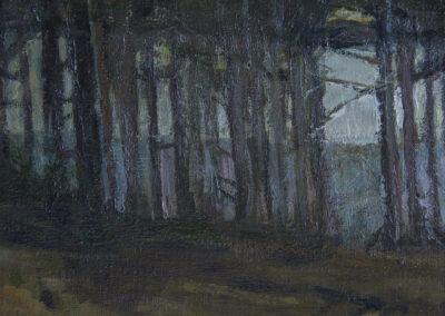 Pine Grove Twilight, Detail