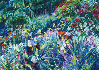 Backlit Garden